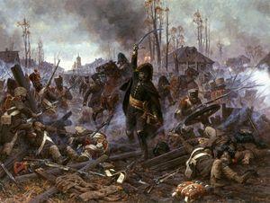 Князь Багратион на Бородинском сражении