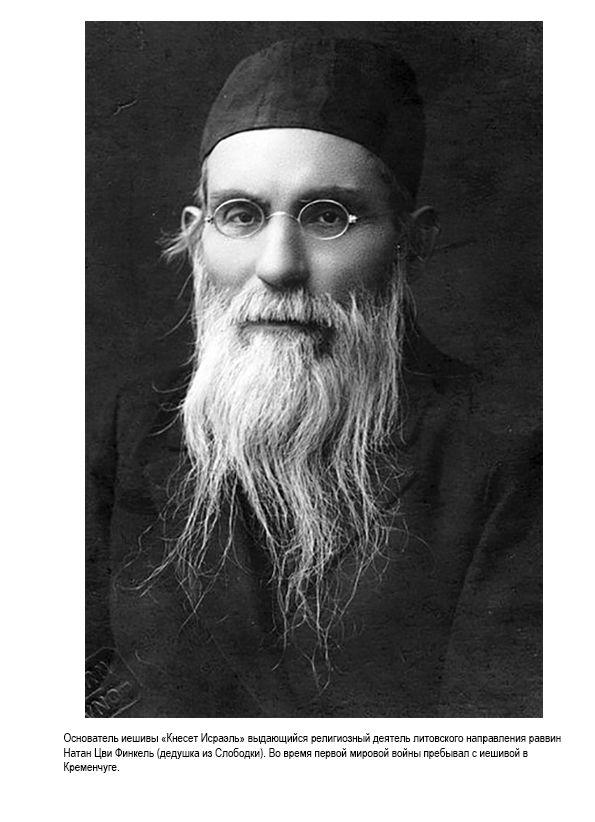 Основатель иешивы Кнесет Исраэль