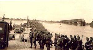 Немецкая переправа в Кременчуге