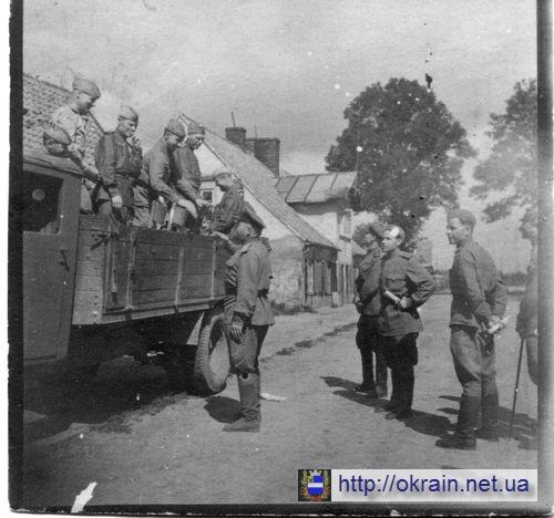 Бойцы и командиры летом 1944 года