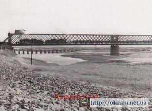 Восстановление Крюковского моста после освобождения Кременчуга
