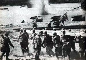 Военные действия в парке культуры «Приднепровский»