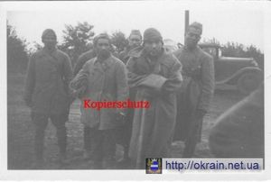 Лагеря военнопленных в Кременчуге 1941 - 1943 года.