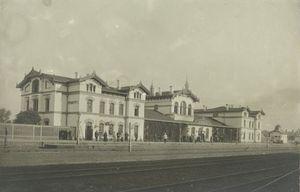 История Кременчугского железнодорожного вокзала.