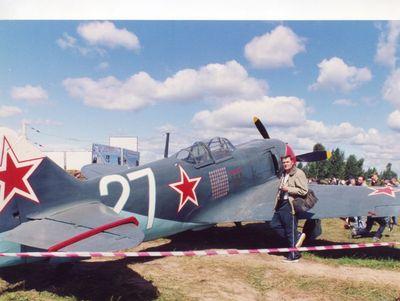 На фото истребитель Ла-7