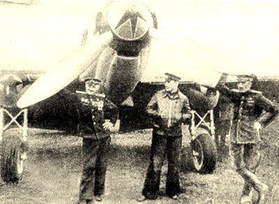 Степанян возле своего самолета