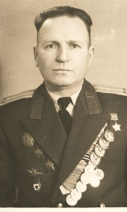 Подполковник Цыплухин в последний год службы.