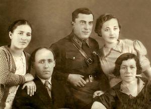 Супруги Гринфельд. Последнее предвоенное фото апр.1941 г.