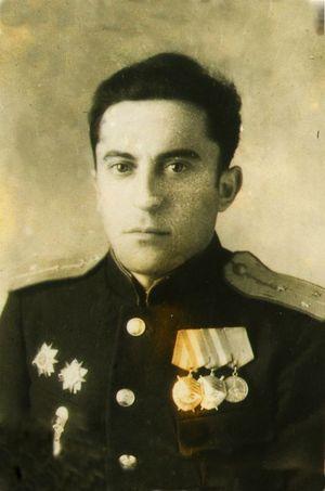 Ст.л-т Гринфельд. Фото 1945 г