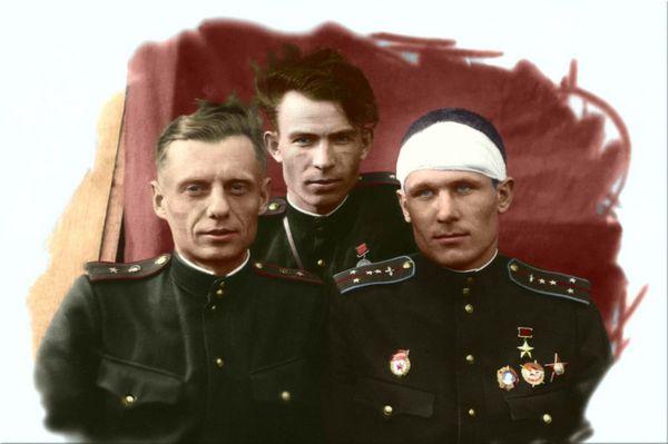 Крупский после операции. 1943 год