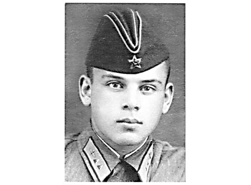 Разумов В.М. фото 1941-42 гг
