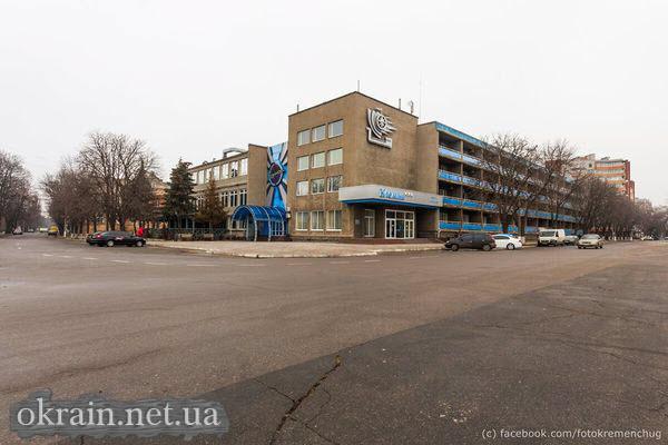 Вид на отель «Кремень»