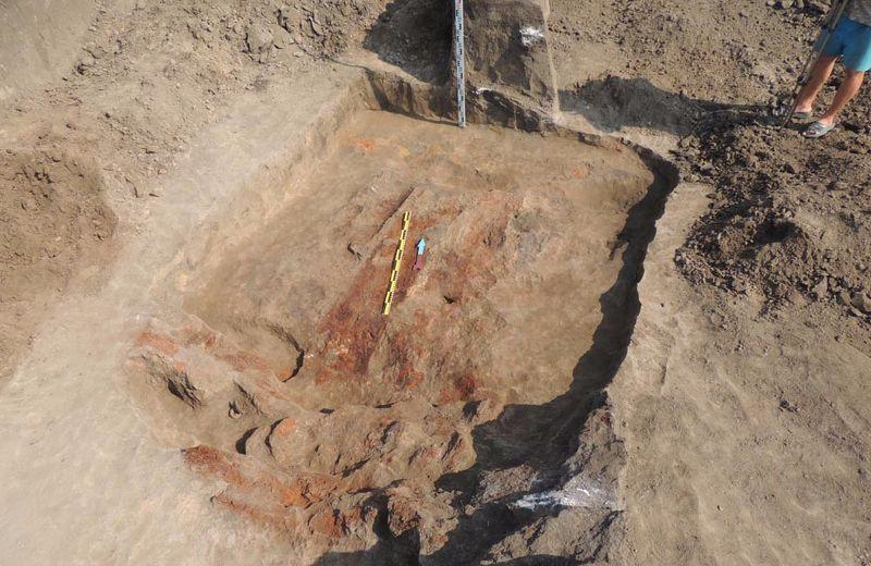 В Полтавской области найден скифский золотой клад