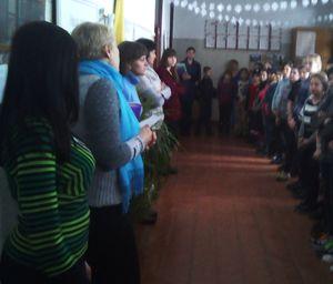 Встреча со школьниками Чечелева в Кременчуге