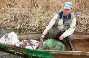 Кременчугской водной полицией задержаны трое рыбаков