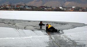 В Кременчуге спасли юношу на реке Сухой Кагамлык.
