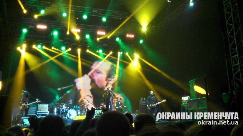 Концерт «Океана Эльзы» в Кременчуге