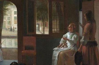 средневековой картине Рембрандта XVII века увидели смартфон