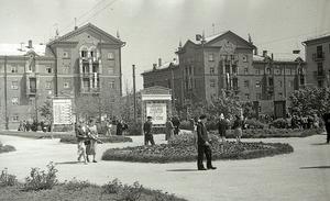 Ко Дню города в сквере «Октябрьский» запоет фонтан