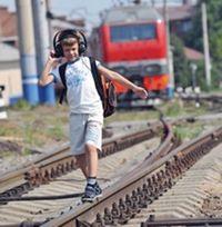 Поезд сбил подростка в наушниках в Кременчуге
