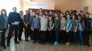 Зустріч зі школярами на тему: «Профілактика правопорушень в учнівському середвищі»