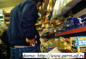 «На спор» обокрасть Кременчугский супермаркет не удалось.