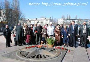 В Кременчуге почтили память узников фашистских концлагерей.