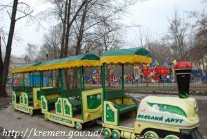 В городском парке «Приднепровский» созданы безопасные условия для отдыха кременчужан