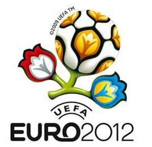 Просмотр футбольных матчей с участием сборной команды Украины на Евро - 2012