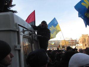 Попытка штурма Кременчугского Горисполкома 26 января 2014 года.