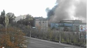 Пожар на заводе Дормаш