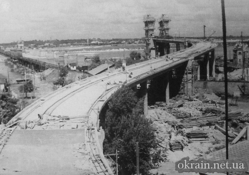 Стройка Крюковского моста - фото 37