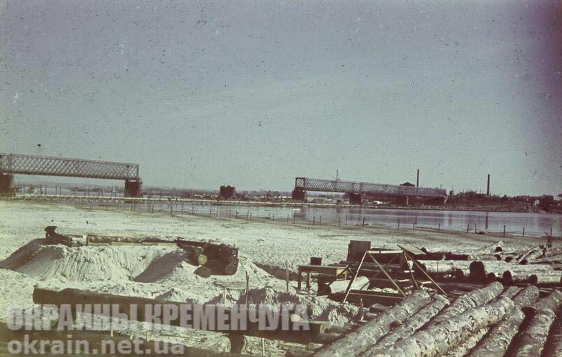 Крюковский железнодорожный мост в Кременчуге - фото №1744