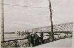 Вид на разрушенный мост. Кременчуг 1941 год. - фото 1520