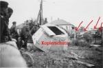 Разрушенный бронеколпак возле моста в Кременчуге 1941 год - фото 588