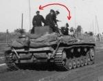 Немецкая танковая группа проходит через Кременчуг - фото 589