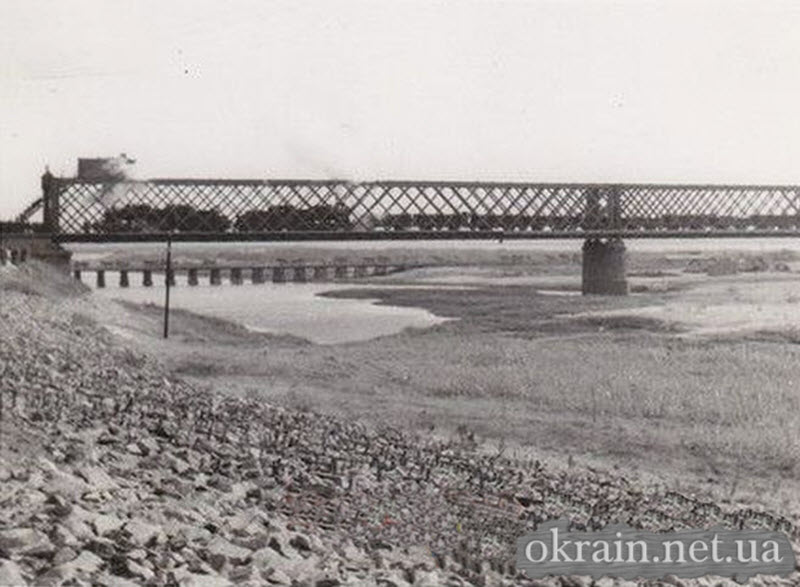Немецкая фотография Крюковского моста - фото 591