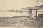 Разрушенный железнодорожный мост в Кременчуге - фото 730