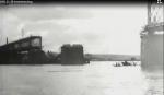Восстановление Крюковского моста немцами, Кременчуг ноябрь 1941 года - видео 857