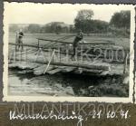 Понтонный мост. Кременчуг 21 октября 1941 года - фото 961