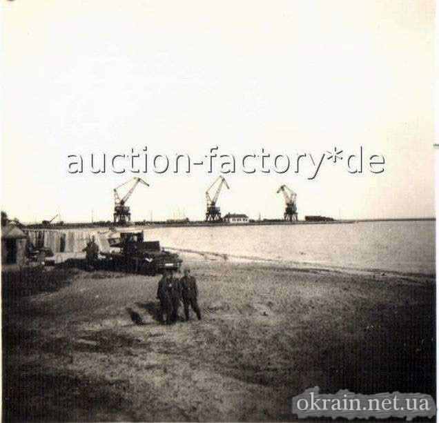 Грузовой порт Кременчуга. 1941-1942 год. - фото 72