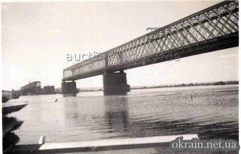 Фото моста с лодки. 1941-1942 год. - фото 76