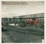 Разрушенный мост. Кременчуг 1941 год - фото 985