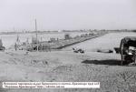 Немецкая переправа выше Крюковского моста. Кременчуг 1941 год.