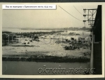 Вид на переправу с Крюковского моста. 1941 год. - фото 1267