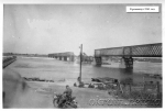 Разрушенный железнодорожный мост в Кременчуге. 1941 год. - фото 1278