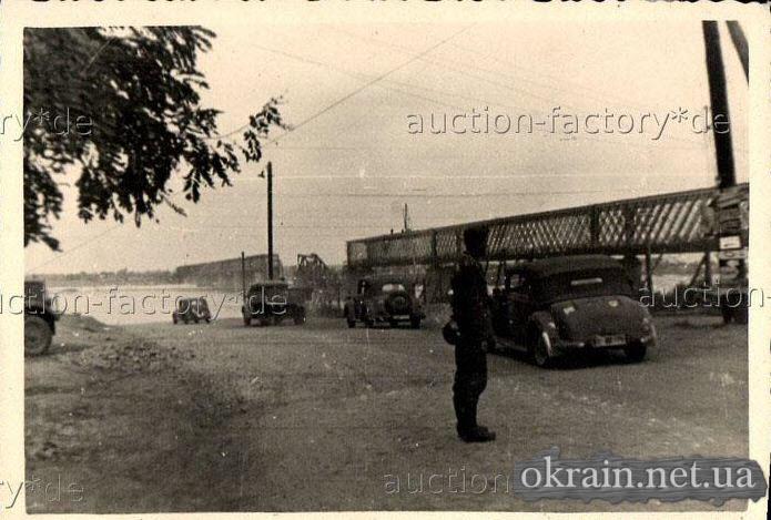 Немецкая переправа. Район моста в Кременчуге. - фото 119