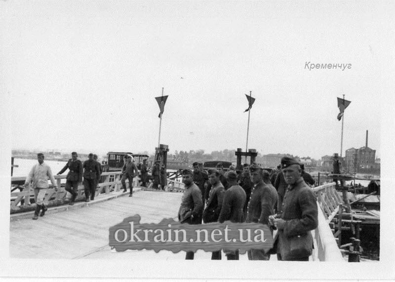 Переправа через Днепр в Кременчуге -  фото 1398
