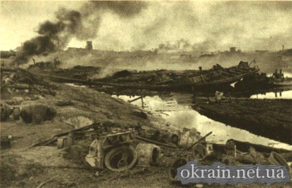 Бомбовое нападение на гавань Днепра в Кременчуге - фото 154