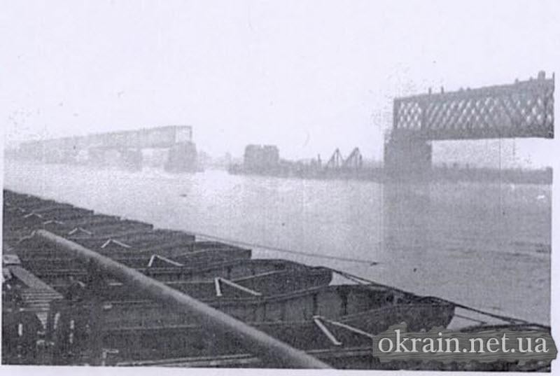 Разрушенный мост возле Кременчуга 1941 год - фото 152